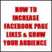 How to Grow Facebook Fan Page Likes