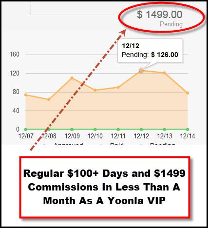 Yoonla VIP Earnings