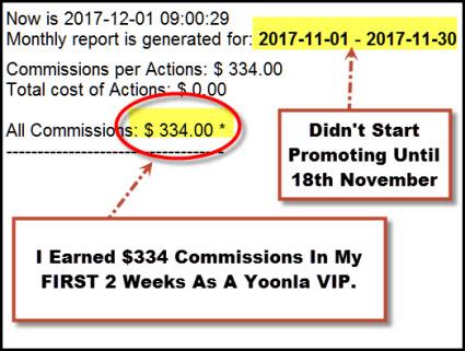 Yoonla VIP Commissions